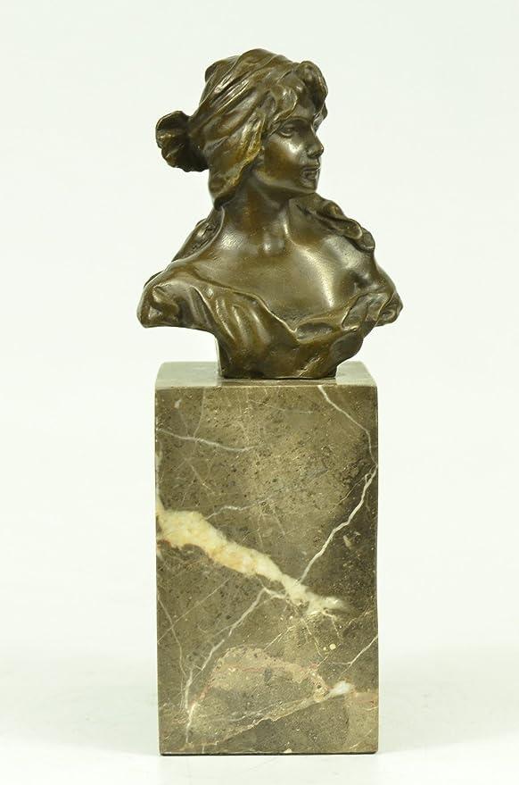 Male Nude Yoga Praying Man Bronze Marble Statue Sculpture Figurine Art Deco