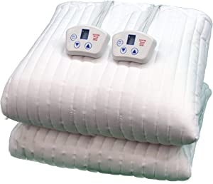 Electrowarmth M60Fld Queen Two Controls Heated Mattress Pad, 60-Inch by 80-Inch