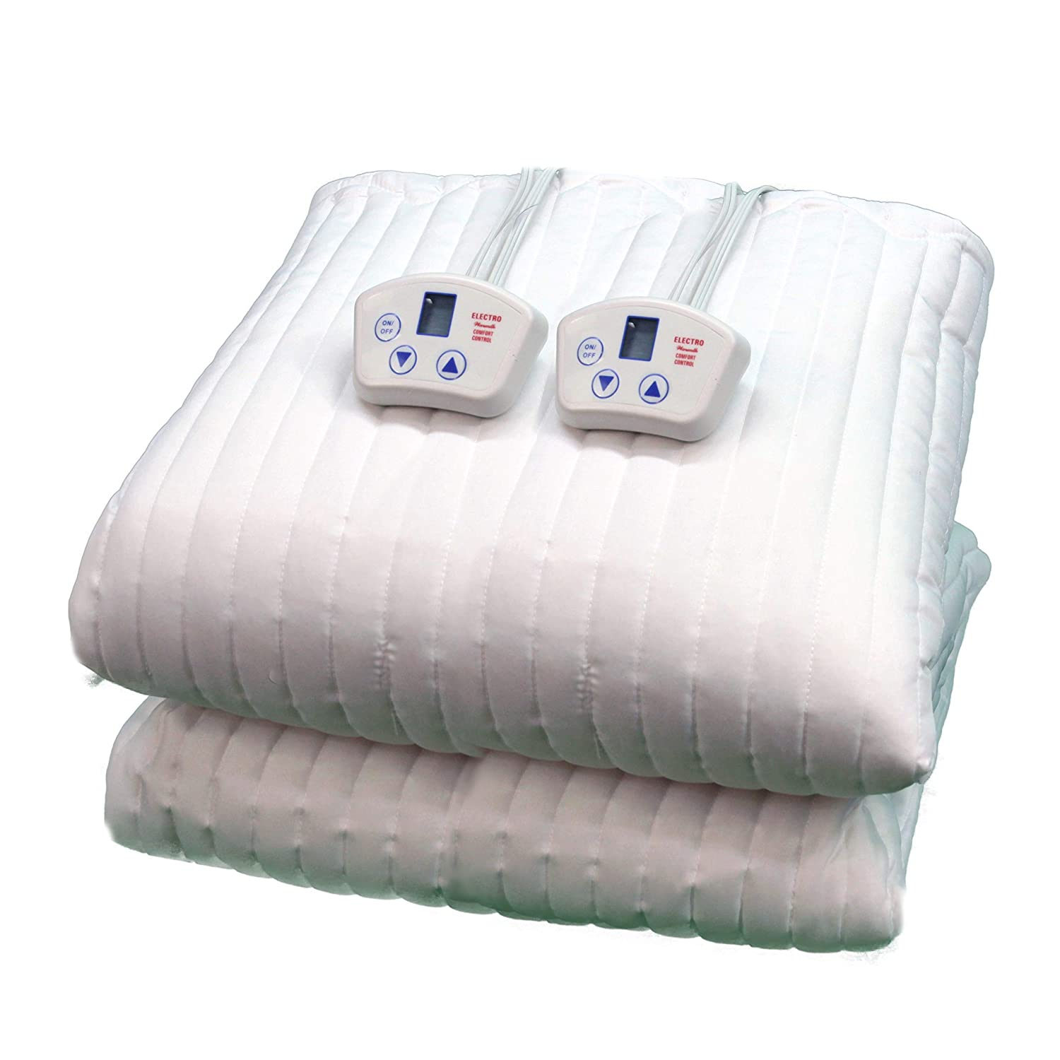 Electrowarmth M60Fld Queen Two Controls Heated Mattress Pad