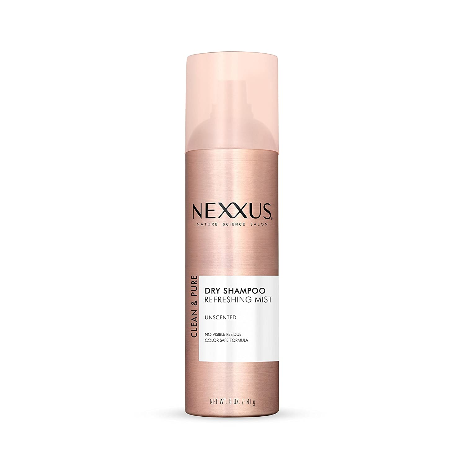 Nexxus Clean & Pure Unscented Dry Shampoo, 5 Ounce