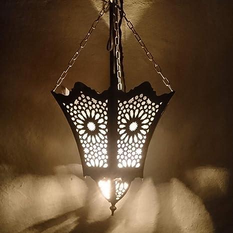 Marrakesch - Lámpara de techo (30 cm, estilo marroquí, para ...