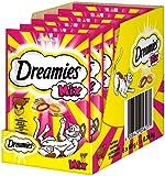 Dreamies Katzensnacks Mix / Katzenleckerli mit wertvollen Vitaminen und Mineralien, 6er Pack, verschiedene Sorten
