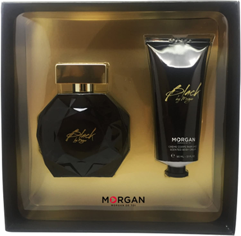 Morgan Black by Morgan estuche Perfume/crema para cuerpo: Amazon.es: Belleza