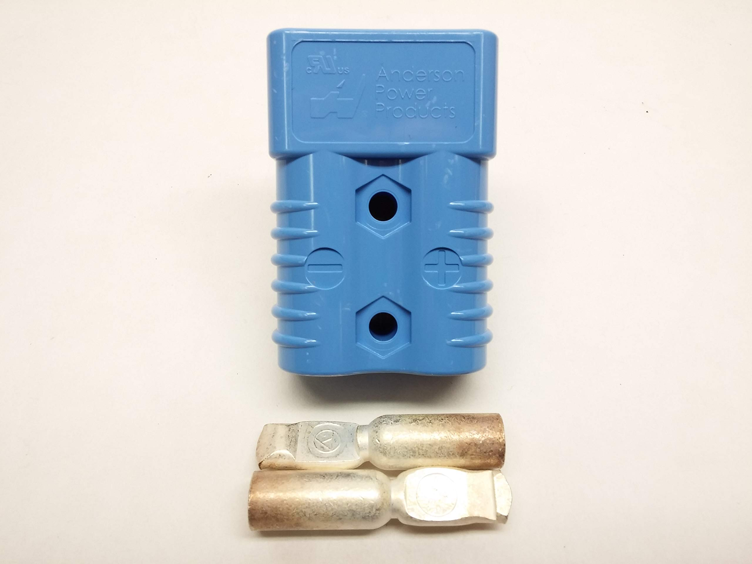X-Haibei Blue Battery Quick Connector Kit 175 Amp 1//0 Awg Plug Connect Disconnect Winch Trailer Forklift