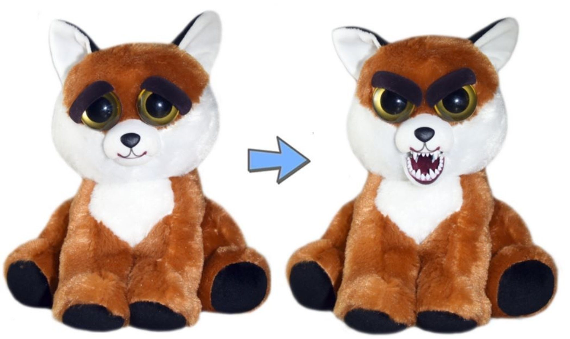 Feisty Pets Sly Sissypants Adorable 8.5'' Plush Stuffed Fox by Feisty Pets