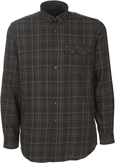 Seeland Camisa de franela de algodón a cuadros para cazadores ...