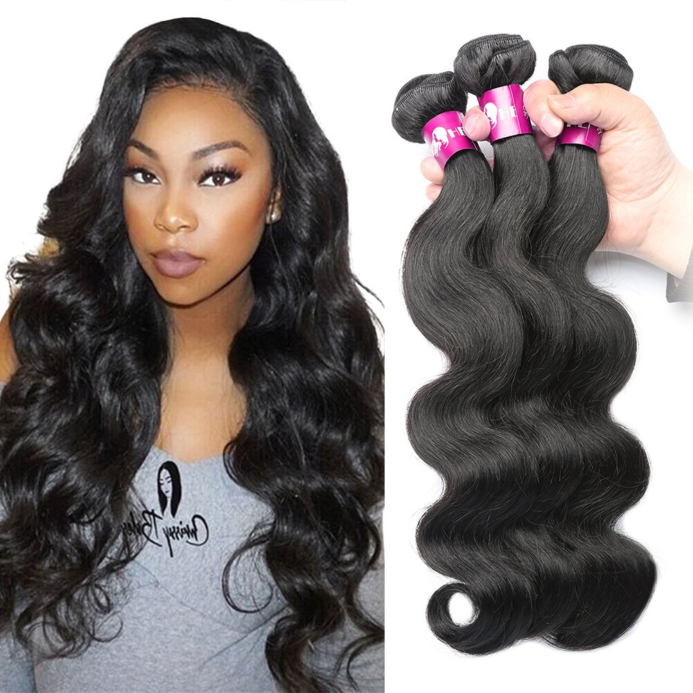 Amazon Hebe Brazilian Virgin Hair Body Wave 4 Bundles 18 20 22