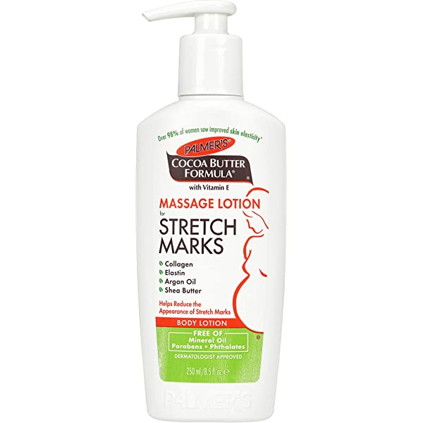 Amazon Com Palmer S Cocoa Butter Formula Massage Lotion For Stretch Marks Pregnancy Skin Care 8 5 Ounces Beauty