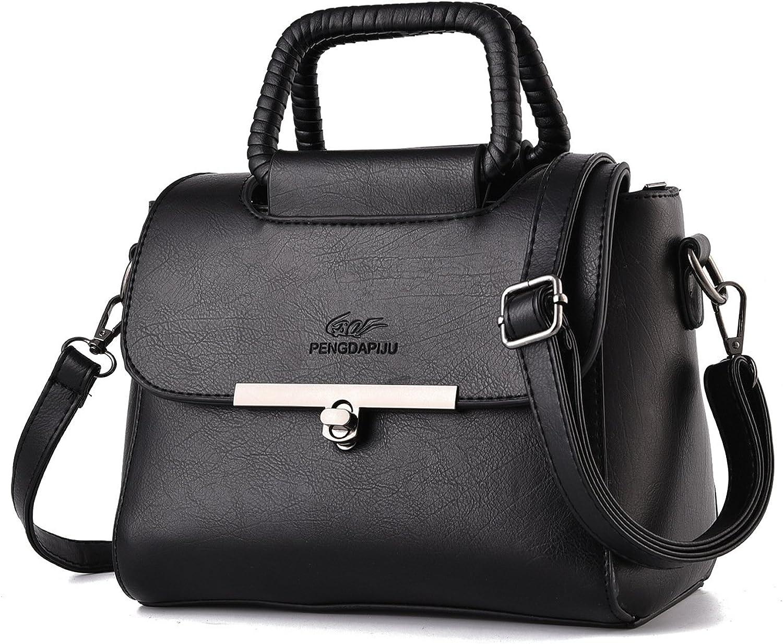 Fashion SHIM PU Handbag