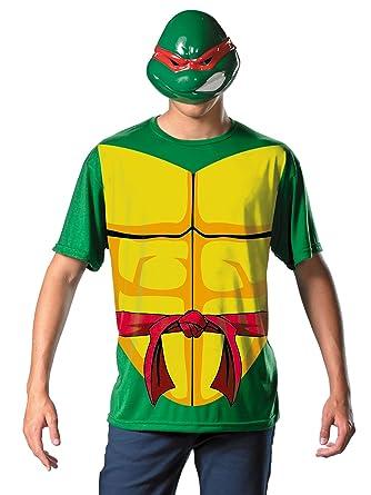 Amazon.com: Ninja Turtles Costume Mens Theatrical T-Shirt ...