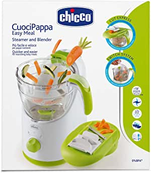 Chicco Steamer and Blender Easy Meal, Multi Color, 06776