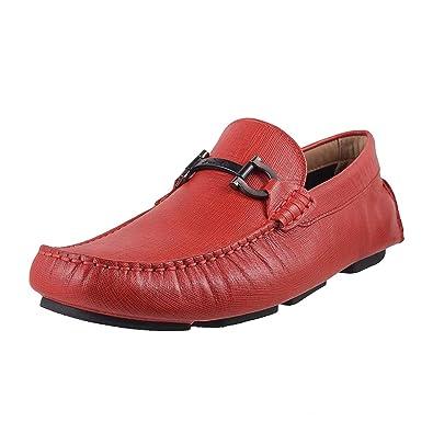 Leather Loafers-7 UK/Inida(41 EU