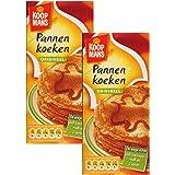 Koopman's Dutch Pancake Mix, Pannen Koeken - (2-Pack) - Original PannenKoeken Mix, Dutch Holland Import, 14.1 Oz. Per…