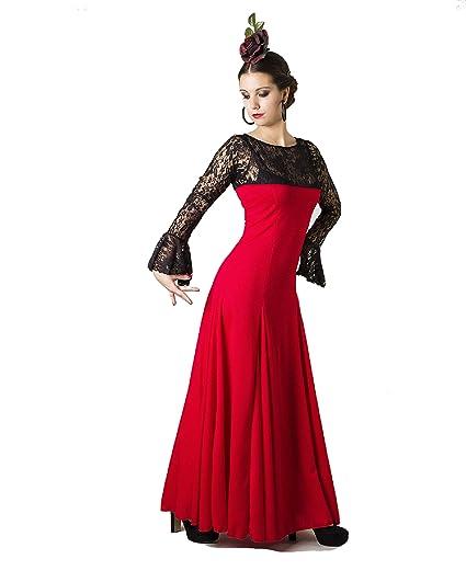 Anuka Traje Profesional de Danza Flamenco para Mujer ...