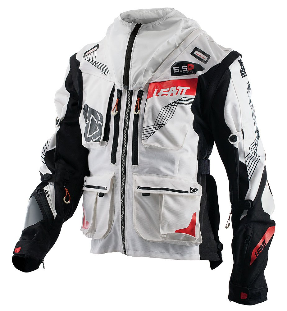 Leatt Chaqueta GPX 5.5 Enduro Blanco/Negro - S: Amazon.es ...