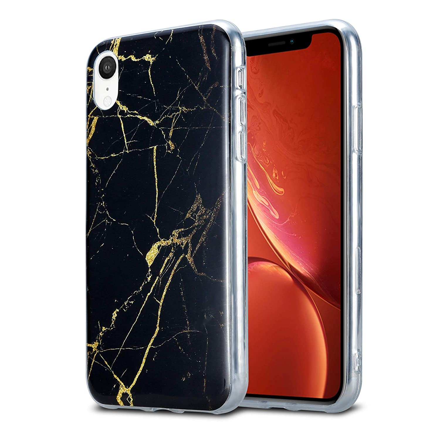 marble effect iphone xr case