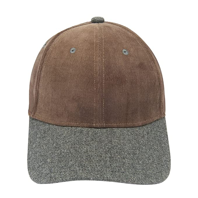 12e15068ce1 Image Unavailable. Image not available for. Color  Gents Executive Cap In  Brown Corduroy