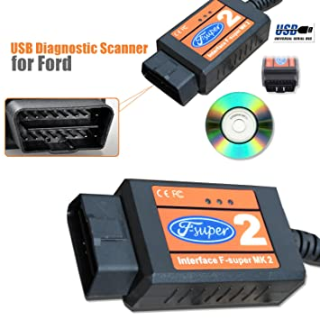 Kingmansion Ford F Super Interface Scanner Scan Tool Usb Reader Ka Focus Mondeo Fiesta Obd Amazon Co Uk Car Motorbike