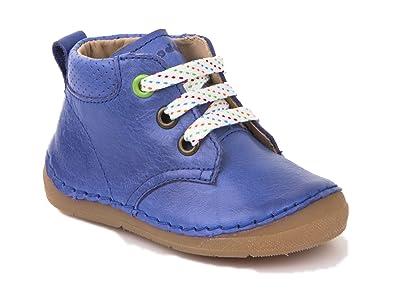 Modestil neue Stile gut aussehen Schuhe verkaufen Froddo Baby Schnürschuh Laufanfänger Blue Electric: Amazon ...