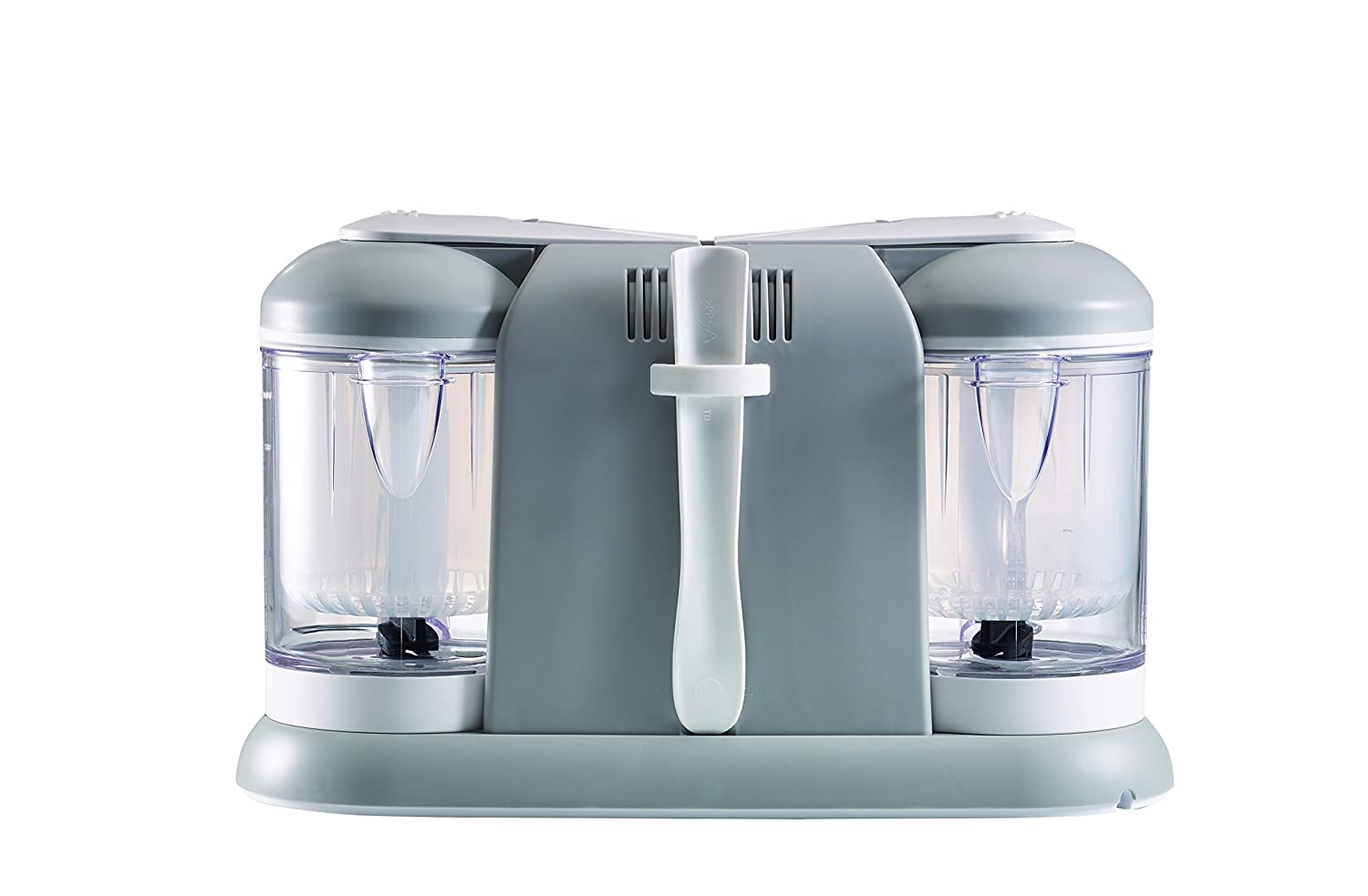 BEABA Babycook Plus 4 in 1 Steam Cooker and Blender Cloud Dishwasher Safe 9.4 cups