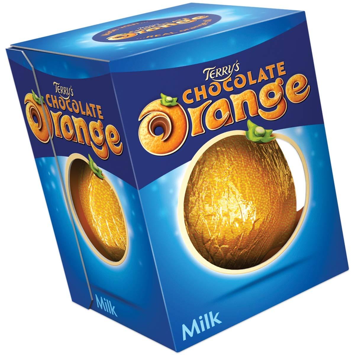 Terry's Chocolate Orange Milk Chocolate 5.53 oz. 2 pack