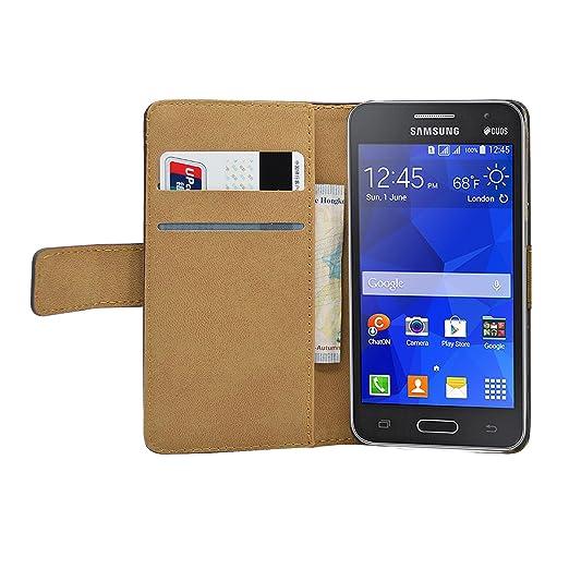 10 opinioni per Membrane- Nero Portafoglio Custodia per Samsung Galaxy Core II (SM-G355H /