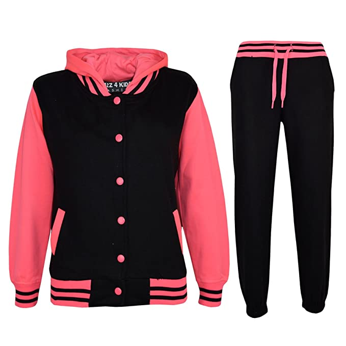 clearance new styles Good Prices A2Z 4 Kids® Kids Tracksuit Girls Designer Baseball Plain Top Bottoms  Jogging Suits New Age 7 8 9 10 11 12 13 Years
