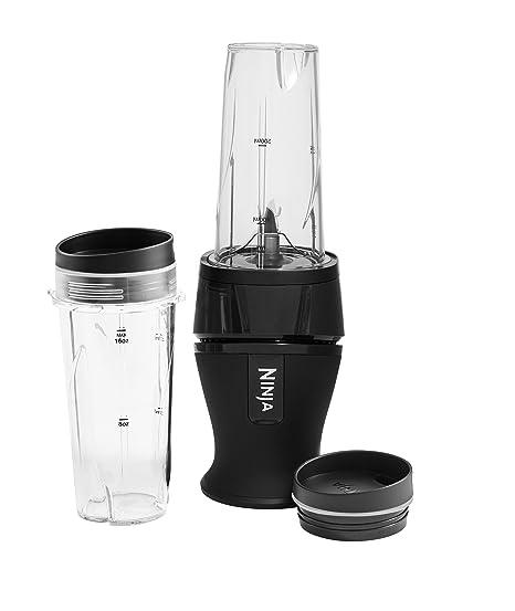 Nutri Ninja Slim QB3001EUMK licuadora con potencia de 700 vatios, color negro: Amazon.es: Hogar