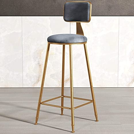 Awesome Amazon Com Yaolanq Metal Bar Stool Chair Without Armrests Dailytribune Chair Design For Home Dailytribuneorg