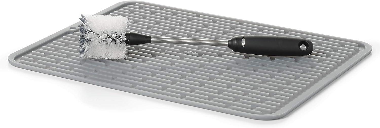 OXO SteeL Bottle Brush,Black,10 In: Home & Kitchen