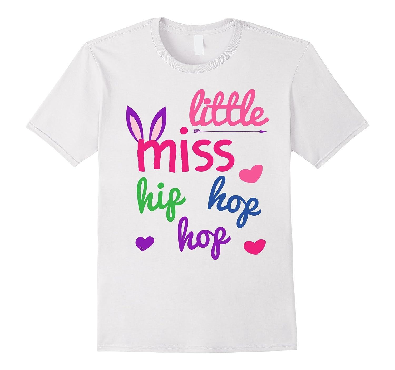 Little Miss Hip Hop T Shirt Cute Girls Bunny Ears Tee Cd Canditee