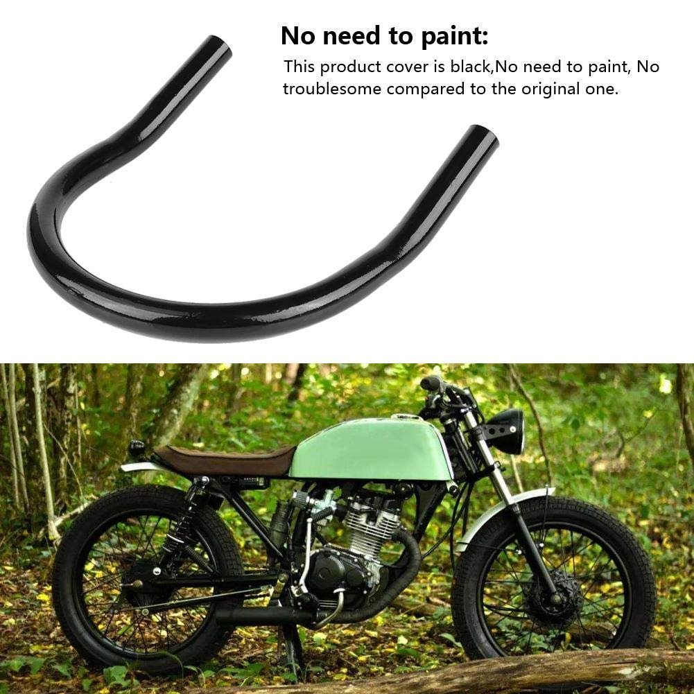 KIMISS Motorcycle Rear Seat Seat Frame Mounting Bracket Frame Loop Hoop Mount Mounting Car Seats Accessories Seat Loop LED 230mm Flat tube