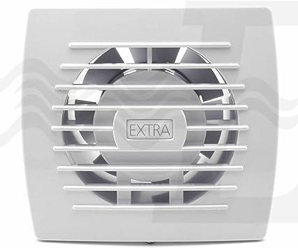 Aspirador de aire, extractor espiral encastrable para baño o cocina, diámetro 100 mm: Amazon.es: Bricolaje y herramientas
