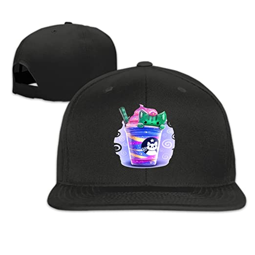 Green Cat in Ice Cream Cup Snapback Cap Plain Blank Caps Adjustable Flat  Bill Hats for Men Women at Amazon Men s Clothing store  012ce22024c4