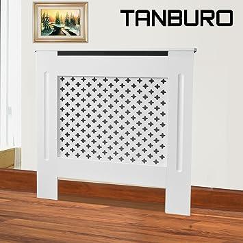 Tanburo Cubierta de Radiador, Cubre de Calentador Emisores Térmicos de Pared, Mate Pintado Estilo