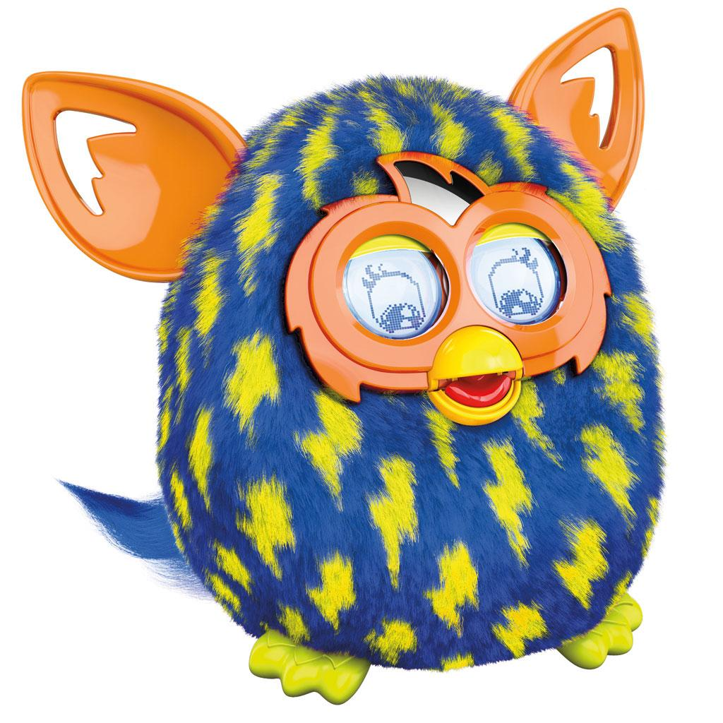 Amazon.com: Furby Lightning Bolts Boom Plush Toy: Toys & Games