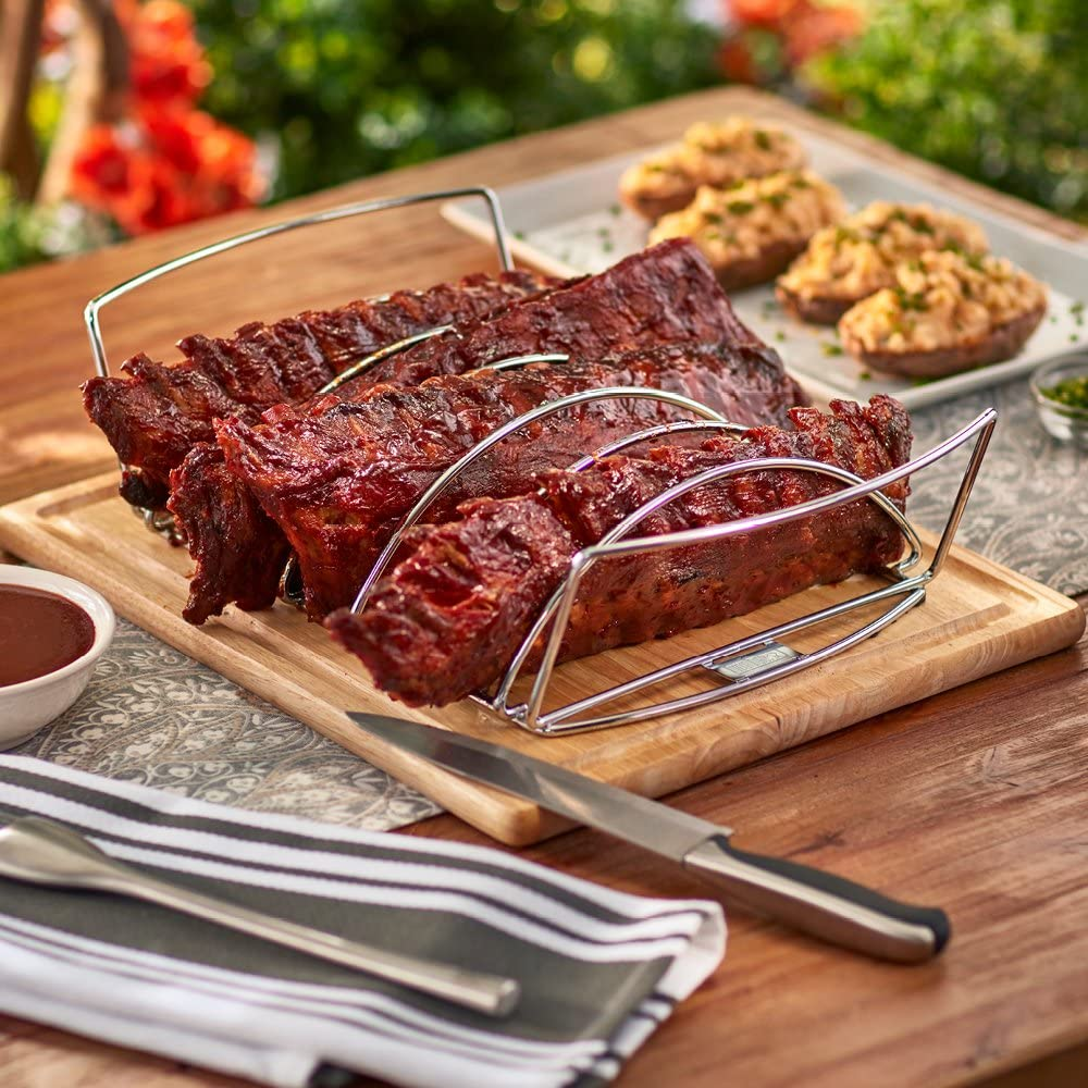 weber original rib and roast holder