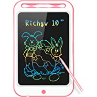 Richgv Upgrade 10 Inch LCD Writing Tablet, Electronic Drawing Board Graphic Tablets with Memory Lock, Handwriting…