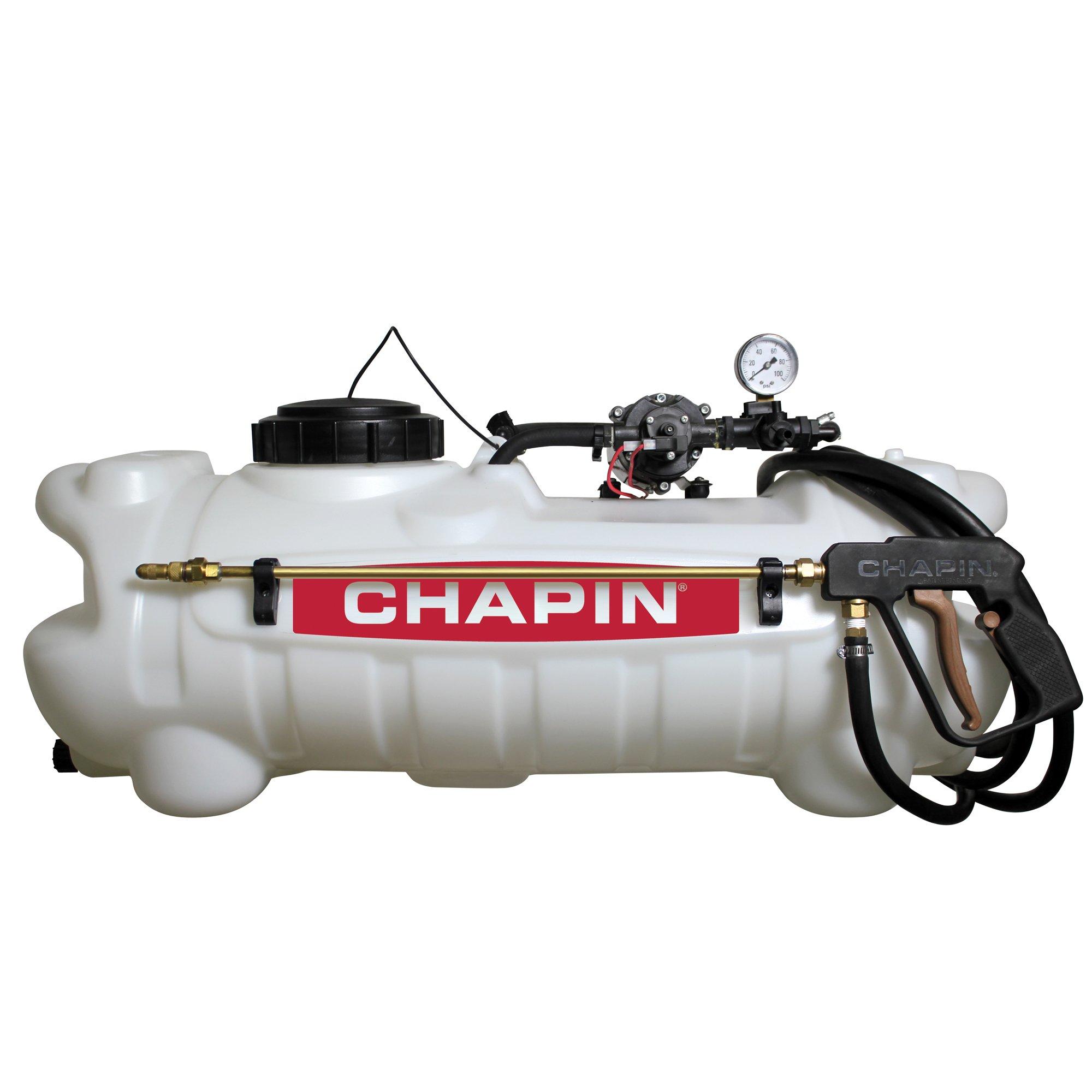 Chapin 97300 15-Gallon 12v Deluxe Dripless EZ mount ATV Spot Sprayer by Chapin International (Image #1)