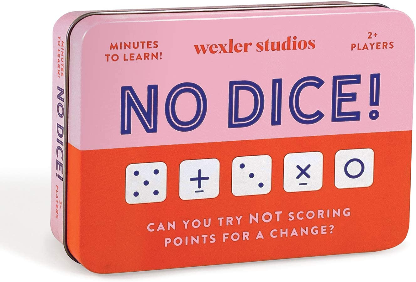 Easy to Play Dice Game for Kids Game Convenient Storage Tin and Instructions Included Fun Great Travel Activity for Kids Roll Out Ideal for 2 Players Ages 6+