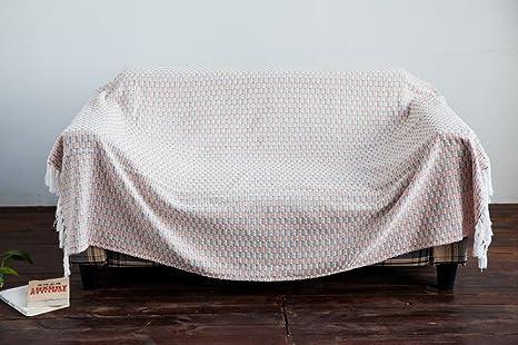 MONY 130 cm * 200 cm sofá Cubre sofá Manta de Chenilla ...
