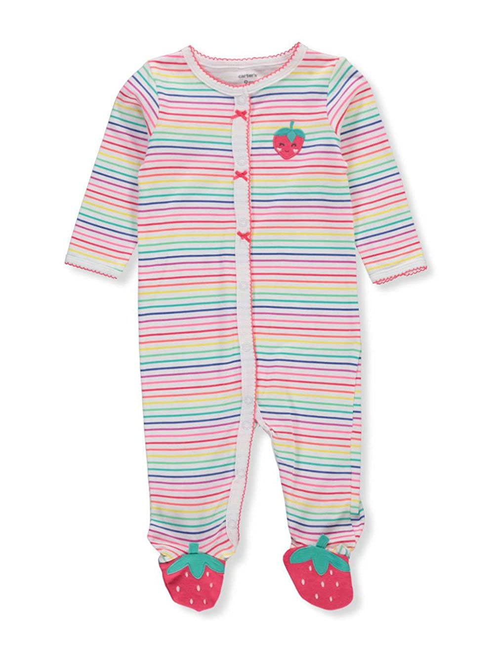 1725af0a6cd3 Amazon.com  Carter s Baby Girls  Cotton Sleep and Play  Clothing