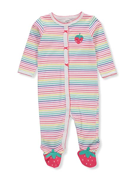 054ab3f7a Amazon.com  Carter s Baby Girls  Cotton Sleep and Play  Clothing