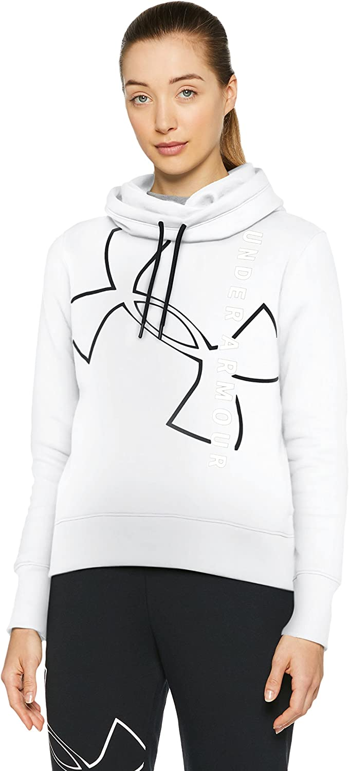 Under Armour Big Logo WM Cotton Hoodie Sudadera, Mujer