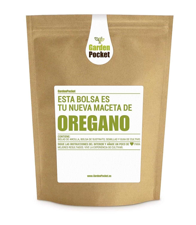 Garden Pocket - Kit de Cultivo de ORÉGANO - Bolsa Macetahttps://amzn.to/2IYbBLZ