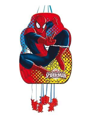 ALMACENESADAN 0849, Piñata Perfil Spiderman,, Fiestas y cumpleaños, Dimensiones: 33x46 cms
