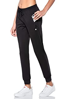 2. G Gradual Women's Tapered Running Sweatpants with Zipper Pockets