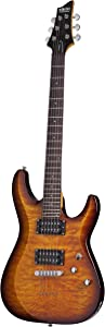 Schecter C-6 Plus VSB Solid-Body Electric Guitar, VSB