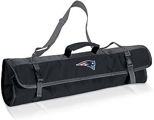 NFL New England Patriots 3-Piece BBQ Tool Tote