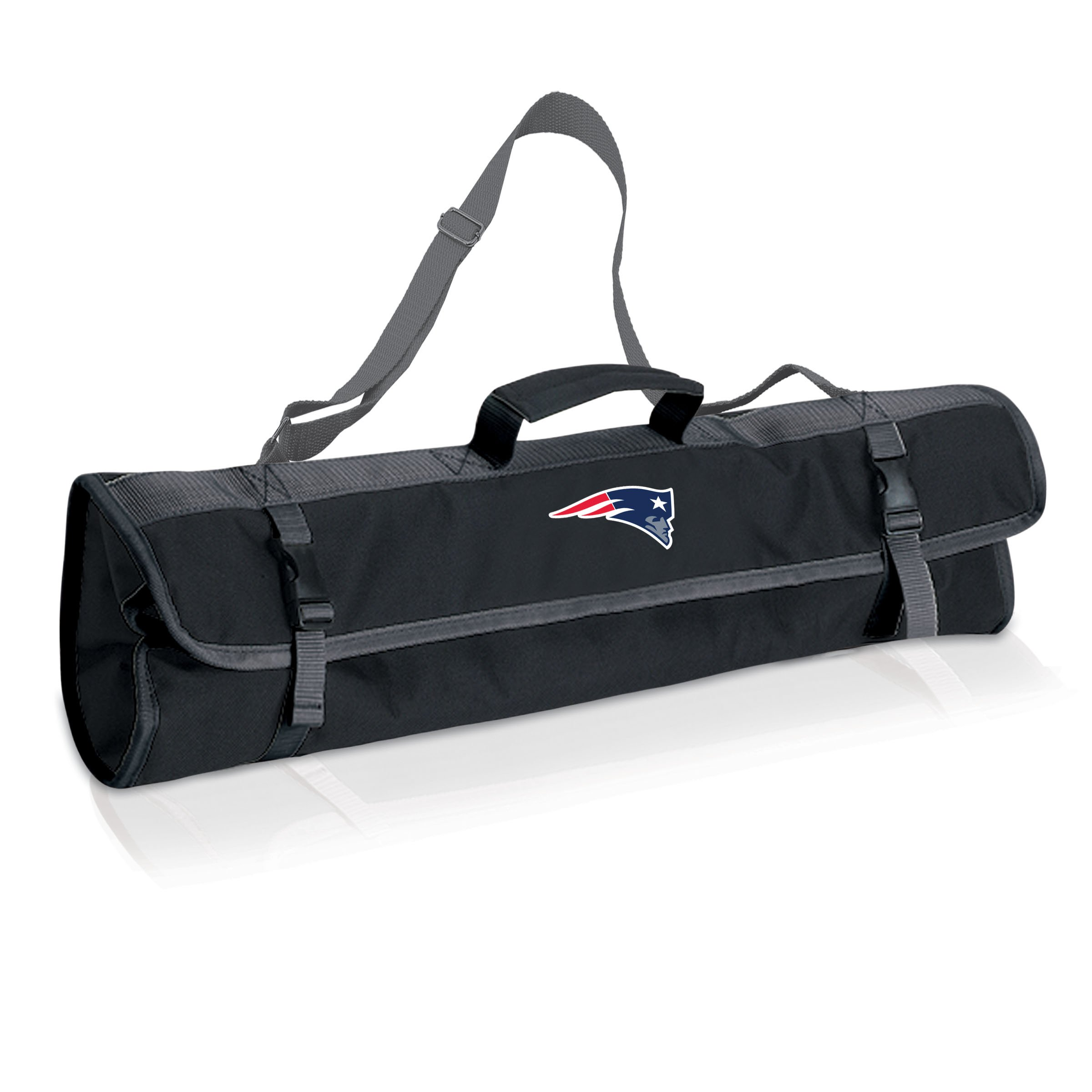 PICNIC TIME NFL New England Patriots 3-Piece BBQ Tool Tote